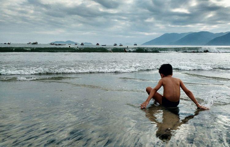 EyeEm Selects Real People Beach Day Sky Nature People Florianópolis Brazil Florianópolis - SC