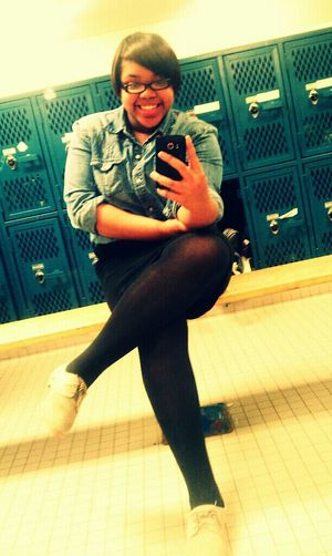 chillin in gym couple days ago!