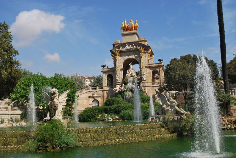 Ancient Architecture Barcelona Barcelona, Spain Catalonia Catalunya City Cityscape Day Fountain No People Outdoors Park Place Of Worship SPAIN Travel Destinations