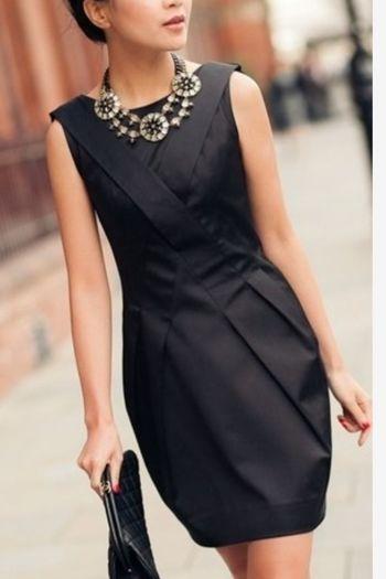 Fashion Little Black Dress Fashion Statement Statement Necklaces