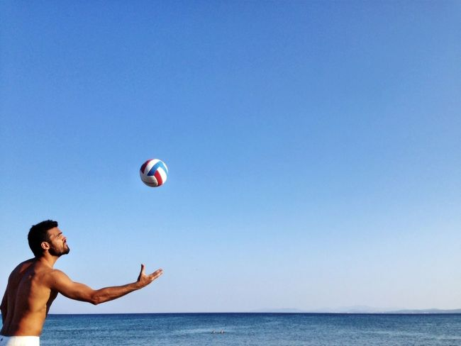 Without filters or edits. Enjoying The Sun Beach Volleyball ThatsMe