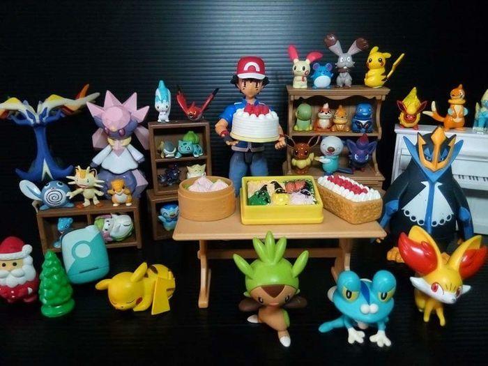 Pokemon Toy Photography