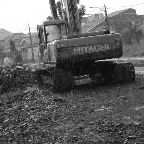 Streetphoto_bw Excavator