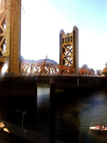 Hanging Out Taking Photos Enjoying Life California Norcal Cali Life Bridges Sacramento Tower Bridge  From My Point Of View