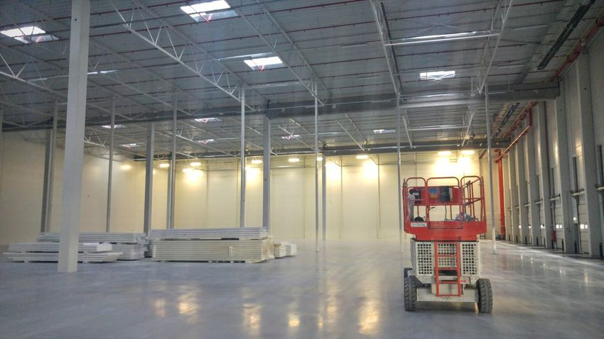 Day Distribution Warehouse Factory Freight Transportation Illuminated Indoors  Industry No People Transportation Warehouse