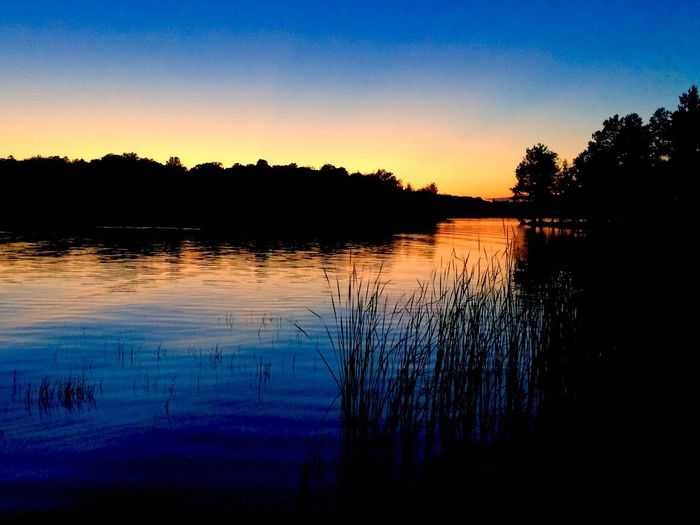 Sunset Wisconsin Lakescape Summer Lakes  Water Peace And Quiet Butternut Lake Tranquility Outdoors Night Photography Beautiful Silhouette Tranquil Scene Horizon Over Water