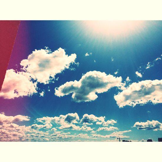 Bulutlar diyorum, sizcede çok güzel değiller mi? First Eyeem Photo