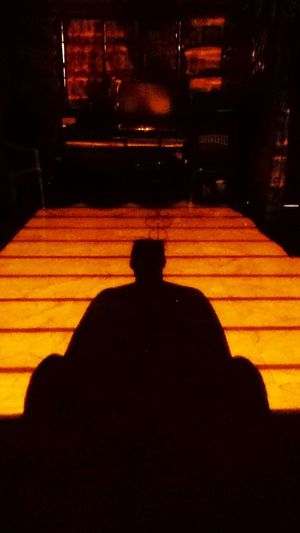 buddha post One Person Shadow Sitting Buddha Night Time Buddhas Sitting Alone Sitting At Home