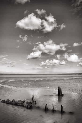 Omaha Beach, 70 years after Atlantic Ocean Coast Normandie The Calmness Within Shades Of Grey B&w View Somanylifes SoManyTears
