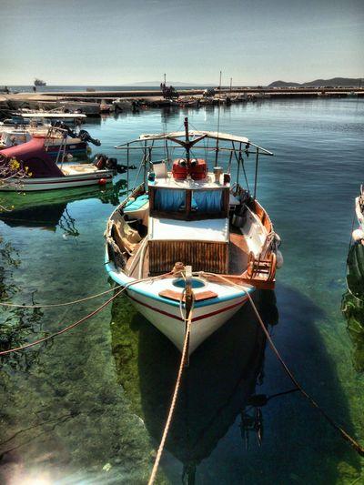 Harbor Moored