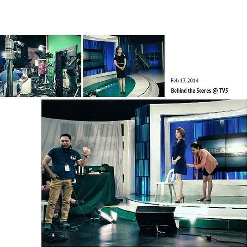 Sonia In Aksyon @ TV5 with Luchi Cruz Valdes Limelight Tv5 Reaksyon Manila