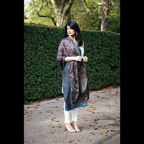 Sneak preview from an interesting project, with @chevronseclairs London IndianChic Fashion Crafts RegentsPark autumn