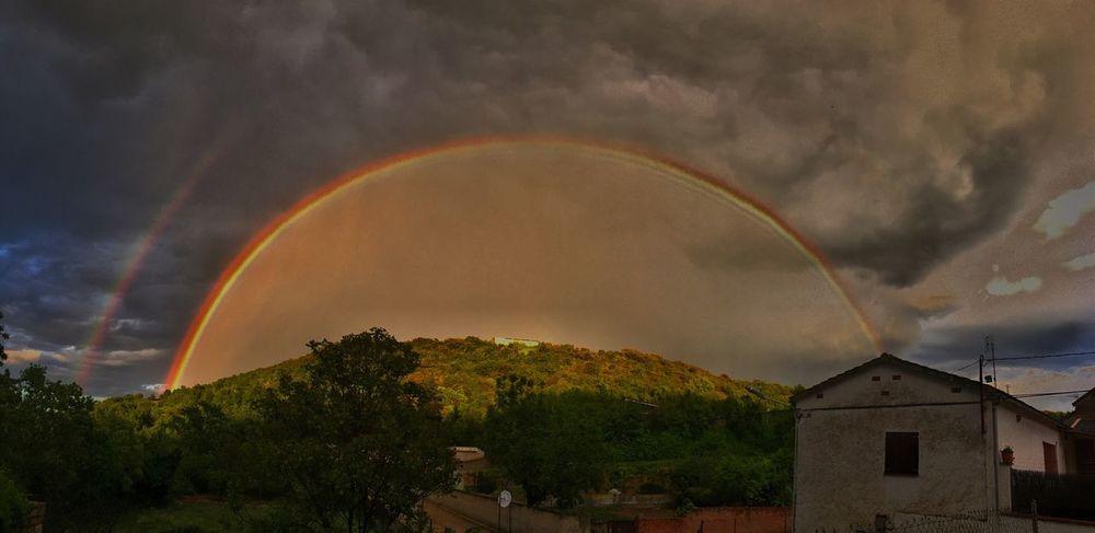 The Great Outdoors - 2016 EyeEm Awards Rainbow Colors Nature Landscape Rainy Days Sky