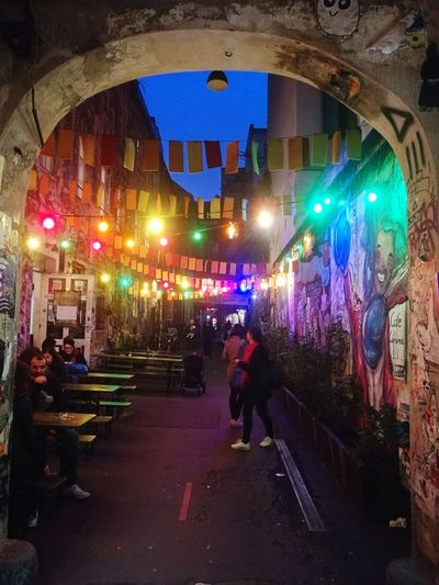 Discover Berlin Berlin Illuminated Built Structure Night Architecture City Multi Colored Colour Your Horizn
