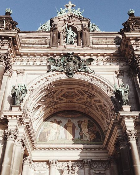 Berlin Berlin Photography Berlin Dom Architecture Church Spirituality Looking Up Germany Jesus Religion