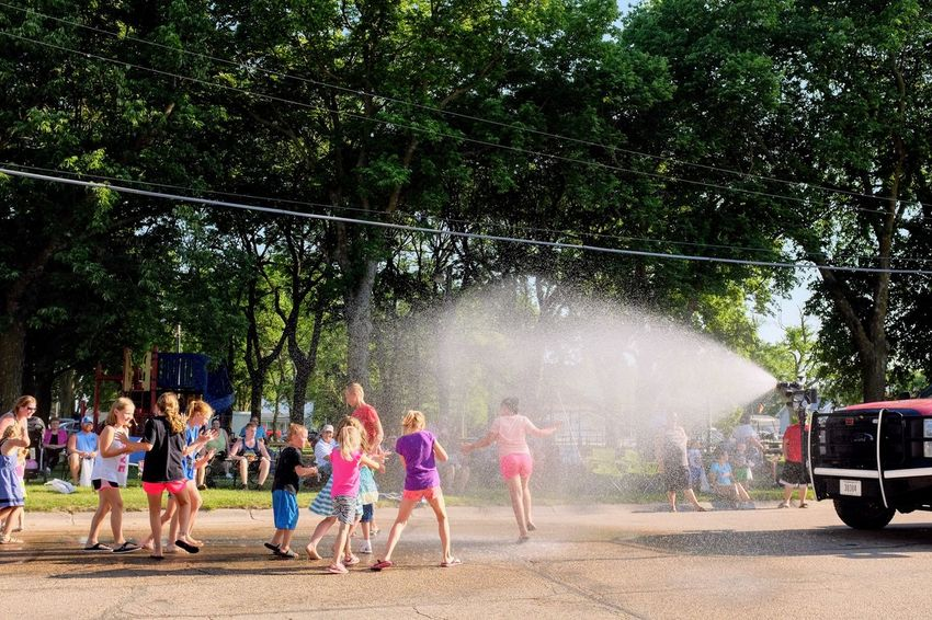 Old Settlers Picnic - Village of Western, Nebraska July 21, 2018 Always Making Photographs Americans Camera Work Community Event Getty Images Kids Being Kids Photo Essay Rural America Village Of Western, Nebraska Visual Journal Watching A Parade Fire Truck Fujifilm_xseries Long Form Storytelling My Neighborhood Old Settlers Picnic Old Settlers Picnic 2018 Parade Photo Diary S.ramos July 2018 Small Town Stories Summer Water Spray