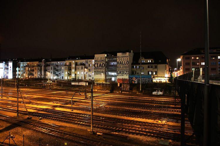 Canon photography Night Illuminated Outdoors City