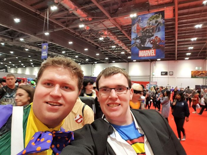 London Comic Con 2017 2017 2017 Year 2017 Photo Great Britain LONDON❤ London London 2017 London Comic Con 2017 London lifestyle United Kingdom Adult Adults Only Comic Con Crowd Day Indoors  Large Group Of People London_only Men People Portrait Smiling Uk England Young Adult Young Men
