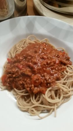 Gesund essen Hello World Taking Photos Spaghetti Bolognese Spaghetti. Essen