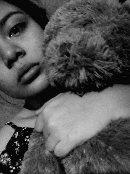 Blackandwhite Firts Eyeem Photo Peluche Osito Girl