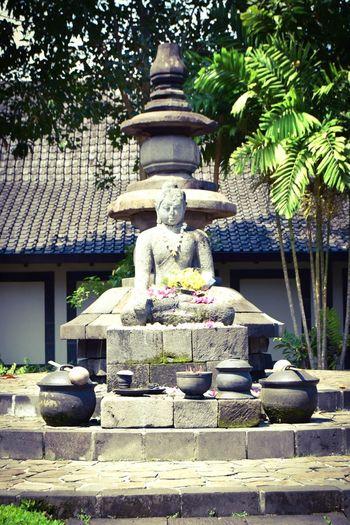 Unfinished Buddha - Borobudur Outdoors Statue Religion Spirituality Day The Great Outdoors - 2017 EyeEm Awards Jogjakartatemple Borobudur Temple