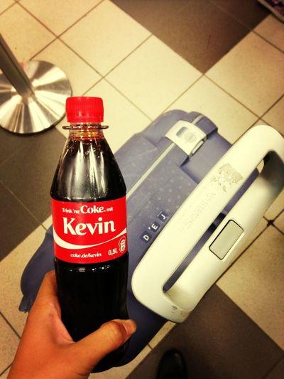 Flo got me a coke