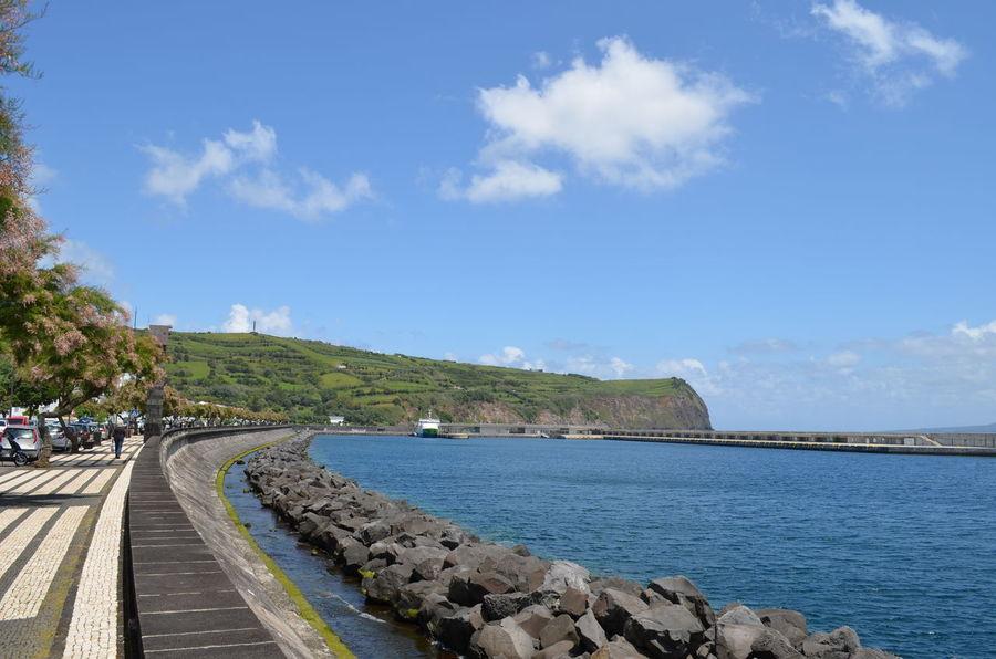 Azores Açores Faial Faial Island Harbour Horta Ships
