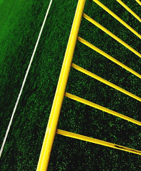 Yellow Green Color Grass Single Line No People Stadium Sport Outdoors Day Close-up Yard Line - Sport Track And Field Soccer Field IPhoneography 17.62°