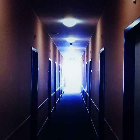 Absence Architecture Building Built Structure Corridor Day Diminishing Perspective Empty Flooring Flur Hotel Hotel Motel Holiday Inn Illuminated Long Motel Narrow No People The Way Forward Vanishing Point Walk Of Shame Walkway