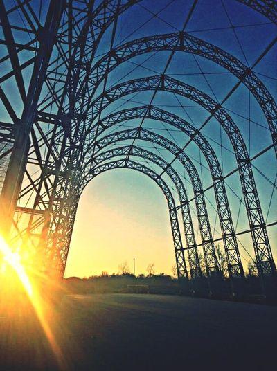 The Architect - 2014 EyeEm Awards Farnborough Airport Sunset