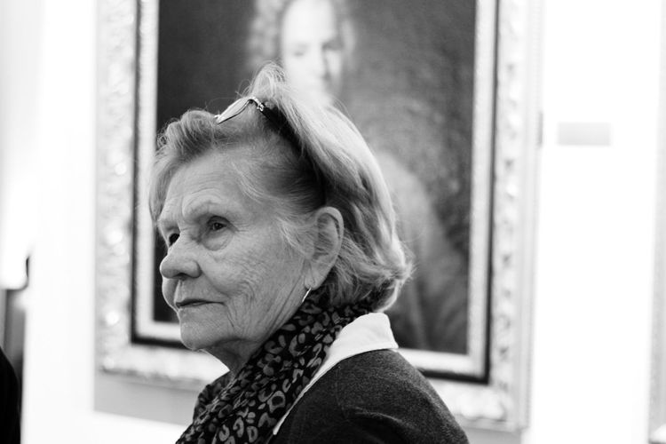 Museum Of Modern Art Conference EOS50mm Canonphotography Teachers Teaching Canon5D Blackandwhite Bw Museum Film Beatiful Standing City Portrait Business Headshot Women Looking Through Window Senior Adult Business Finance And Industry Window Side View Ceremonial Make-up Posing Pretty Caucasian Pensive