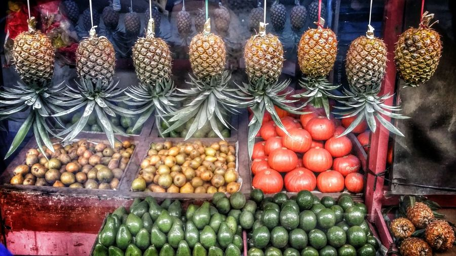 fruits stall Pineapple Apple MandrinOrange Vegetable Fruit Market Choice Retail  Arrangement Variation For Sale Market Stall Food And Drink Dried Fruit Dried Food Stall Various