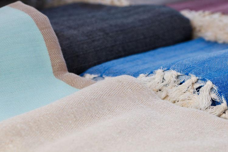 Winter Close-up Cloth Scarf Textile