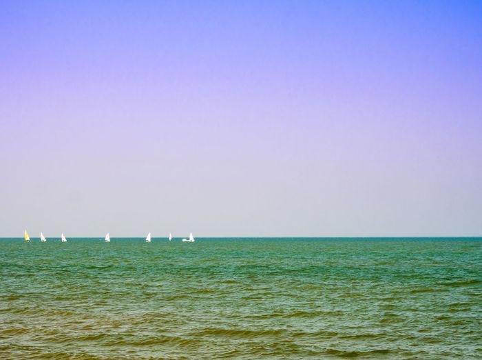 Ocean beach and
