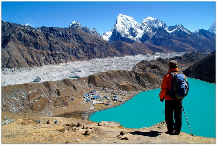 South Gokyo Sea Trekking In Nepal Gokyo Peak For You ;-) EyeMe Best Shot - Landscape