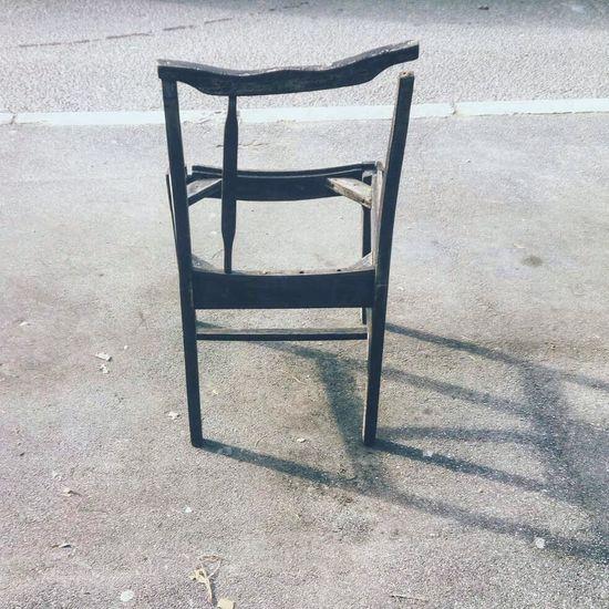 #abandoned  #broken #Chair #empty #photography #sidewalk #street #streetphotography