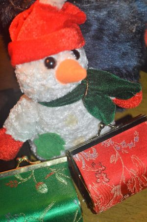 Art And Craft Celebration Christmas Close-up Cold Temperature Creativity Decoration Green Color Holiday Human Representation Indoors  Male Likeness No People Red Representation Santa Claus Snow Snowman Winter