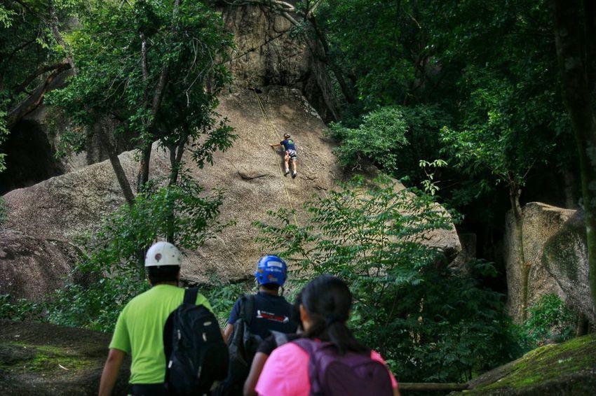The Traveler - 2015 EyeEm Awards Nature EyeEm Nature Lover Grajaú Photography Rappel Mountain Climbing Climbing Climbing A Mountain Check This Out