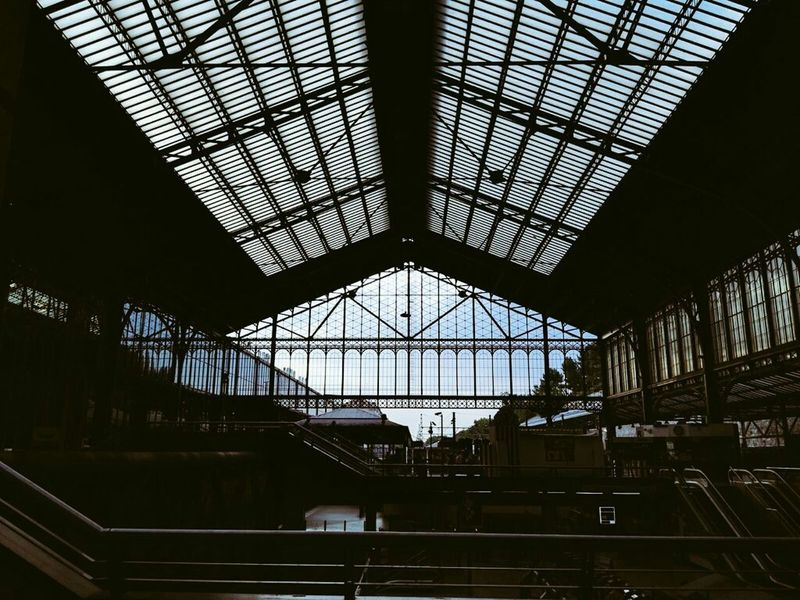 Atocha Madrid Train Station Today My Best Photo 2015