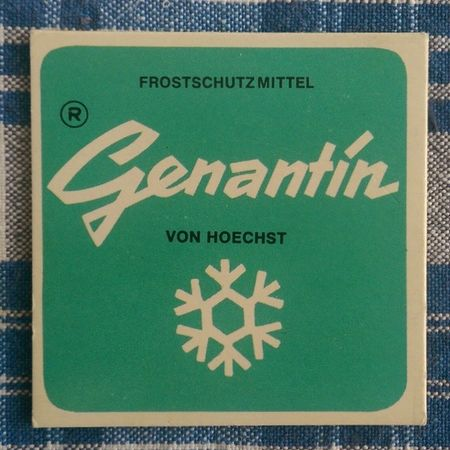 Hoechst Logo 70ties 70s typography
