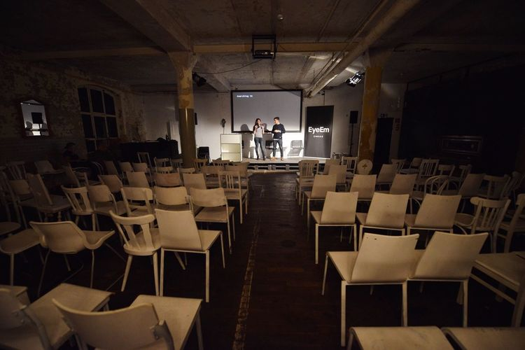 The final rehearsal! Tonights ceremony starts in less than an hour. The 2014 EyeEm Festival & Awards