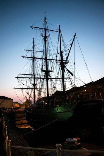 Dockside Docklands Dock Of The Shipyard Ship Shipyard Shiplife Sailing Ship