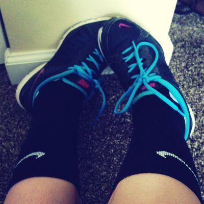 Jourdin no likey my Nike