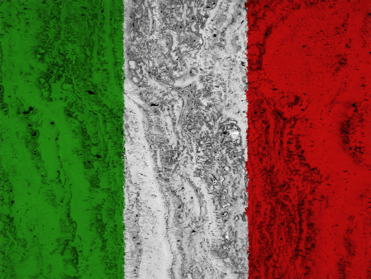 Italian flag Backgrounds Close-up Day Full Frame Grass Green Color Italy Italy Flag Nation Nature No People Outdoors Red Rome Rome Italy State Textured  White Color