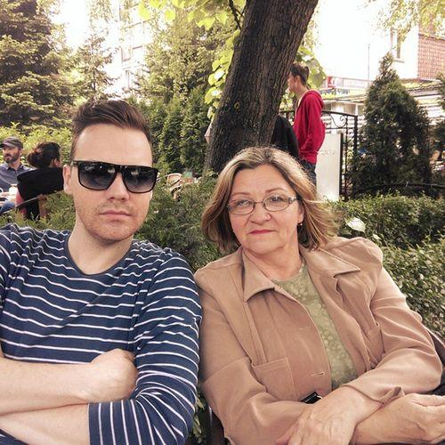 Sleepy sunday n coffee with Mom