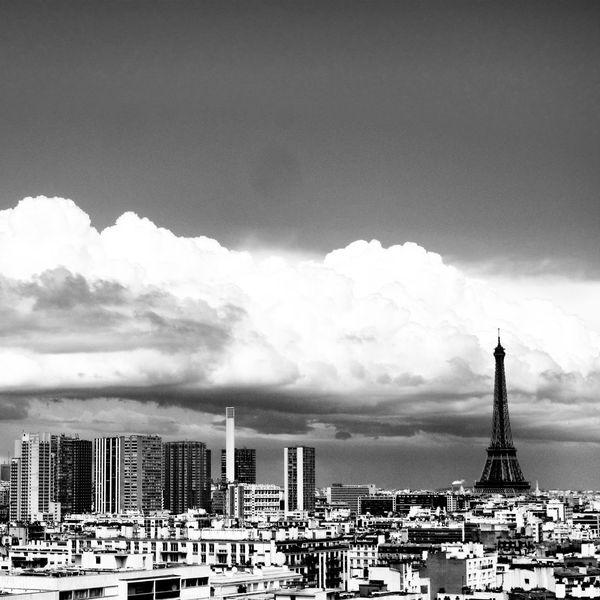 Paysage parisien The View From My Window Architecture Urban Landscape Eiffeltower