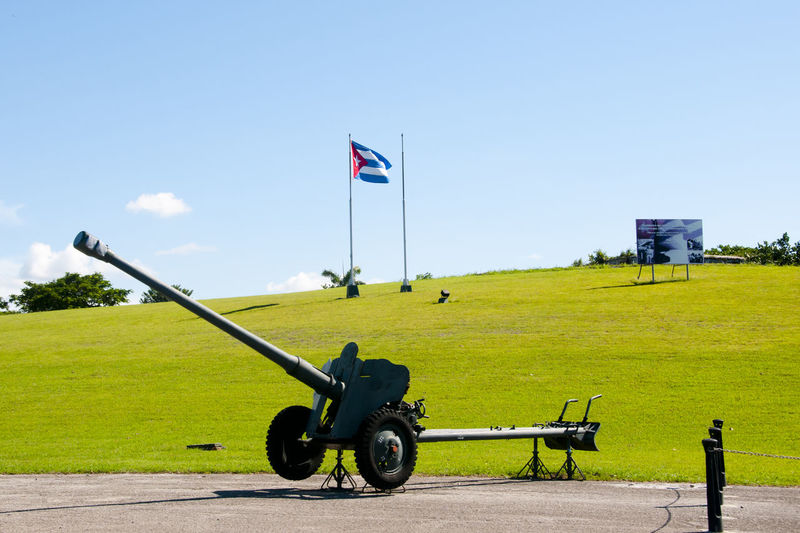 Missile from Revolution Cuba Havana Missile Revolution Cannon