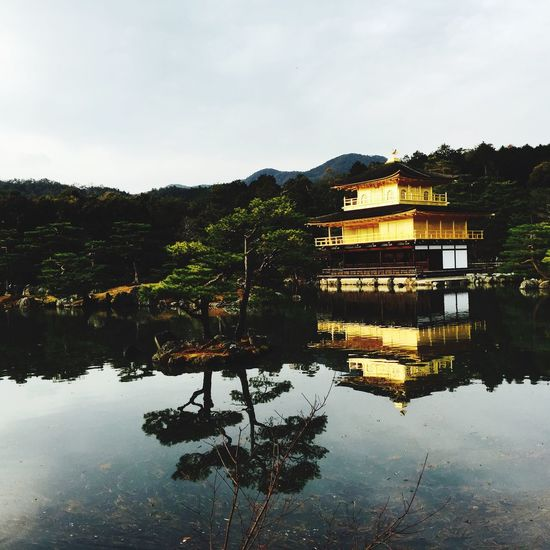 RePicture Travel Throw back Kyoto Moments :) At 鹿苑寺(金閣寺) Kinkaku-ji Temple Enjoying The View Quality Time I Love This City! Relaxing Enjoying Life Hello World Kyoto Japan