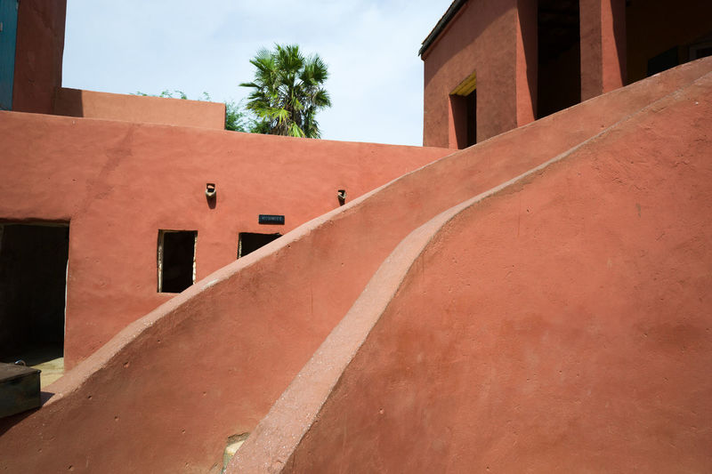 Architecture Building Building Exterior Built Structure Dakar Day Exterior Gorée Low Angle View No People Outdoors Residential Building Residential Structure Senegal Sky