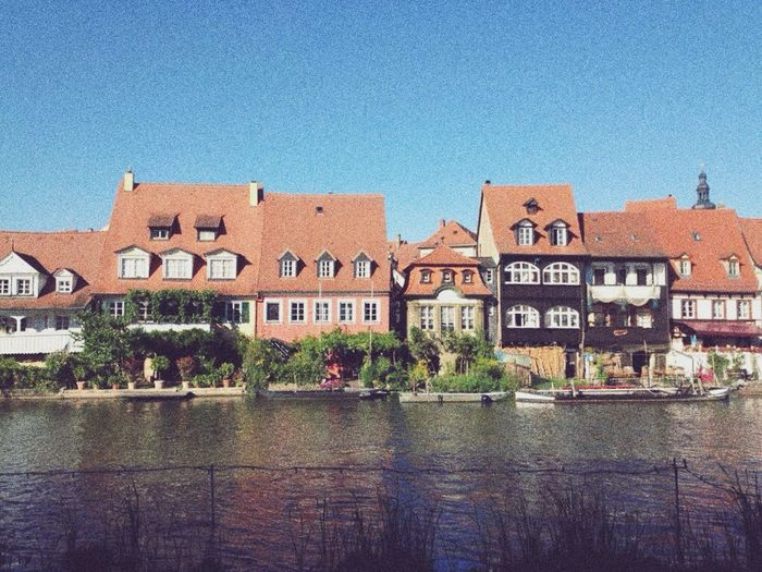 Building Exterior House Architecture Houses Reflected In Water River First Eyeem Photo